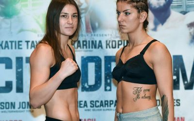 Katie weighs in for pro debut