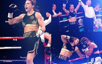 Katie impresses on pro debut