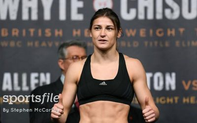 Katie weighs in for second pro fight