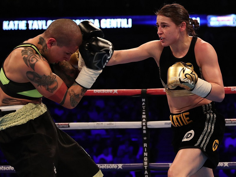 Katie confirmed for Manchester fight night