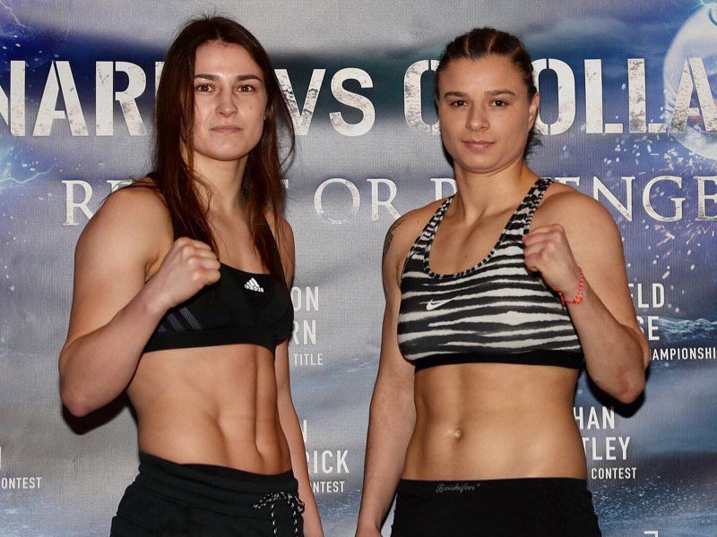 Katie weighs in for 4th pro fight