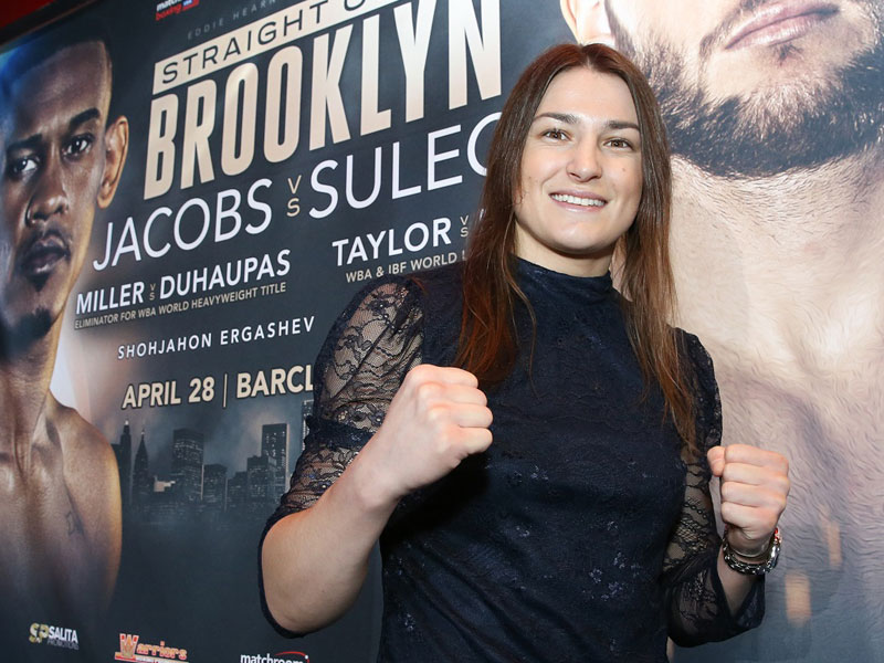 Taylor back in Brooklyn and in search of another World title
