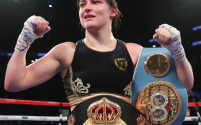 Taylor unifies the World lightweight titles in Brooklyn