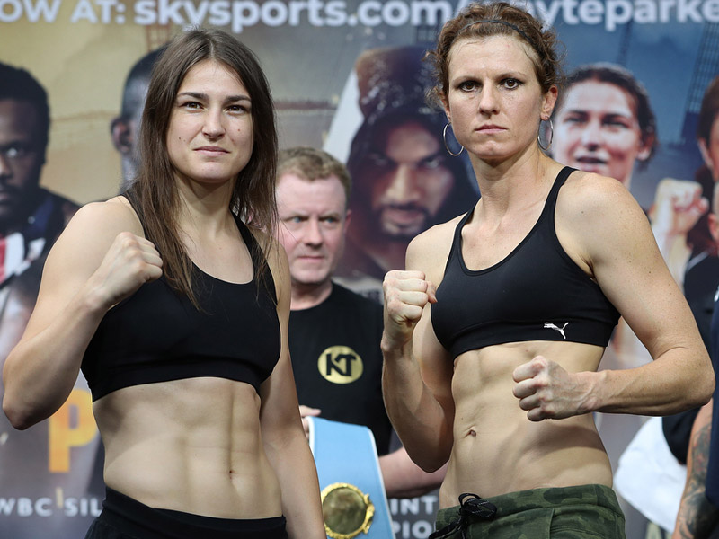 Taylor and Connor make weight ahead of World title showdown