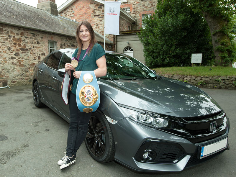 Katie Taylor announced as a Honda brand ambassador