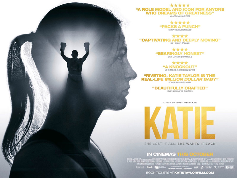 KATIE hits Irish Cinemas