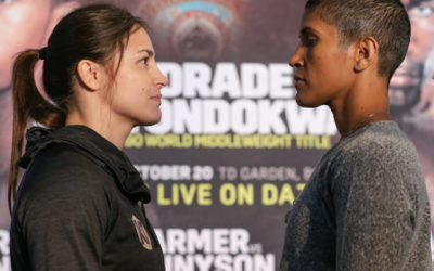 "Katie Taylor ready for the ""toughest fight"" of her career"