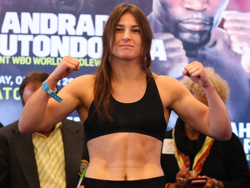 Taylor and Serrano weigh in ahead of Boston showdown