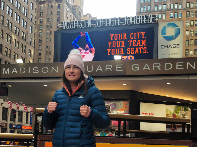 Katie takes on unbeaten Wahlstrom at Madison Square Garden