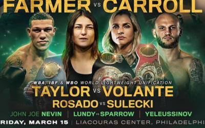 Taylor Volante unification bout confirmed