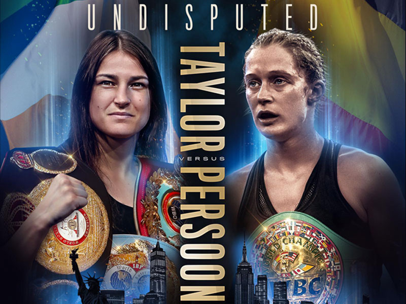 It's On – Taylor V Persoon confirmed for the Undisputed title