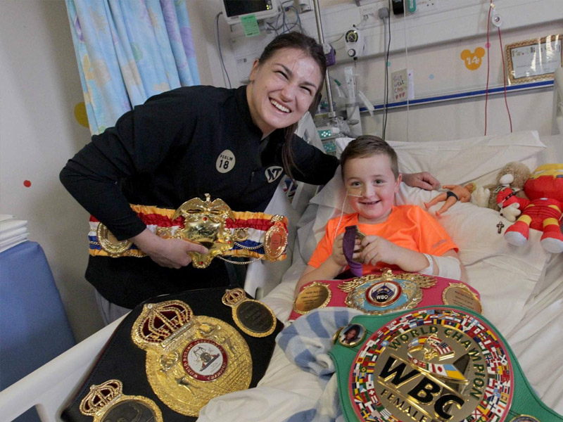 Katie Taylor announced as official ambassador for Temple Street