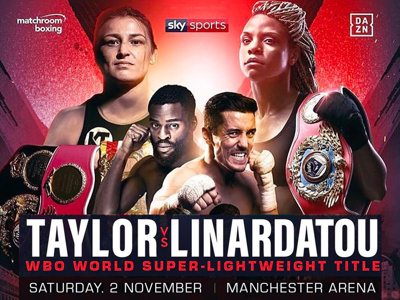 Taylor bids to become two-weight World Champion in Manchester