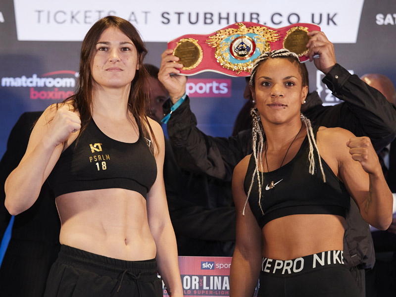 Taylor weighs in ahead of bid to become 2 weight World Champion