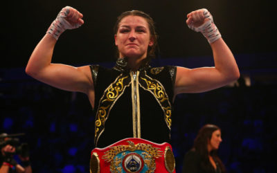 Taylor becomes a 2 weight World Champion in Manchester