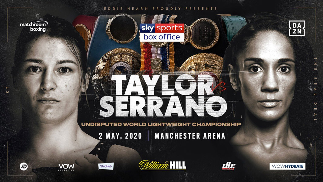 Taylor V Serrano Super fight confirmed for May 2