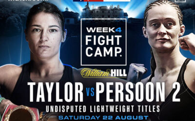 Taylor V Persoon rematch confirmed for August  22