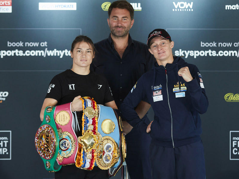 Final press conference for Taylor and Persoon ahead of Saturday's rematch