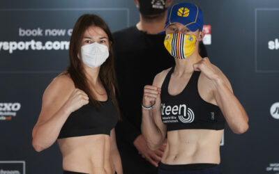 Taylor and Persoon weigh in ahead of rematch